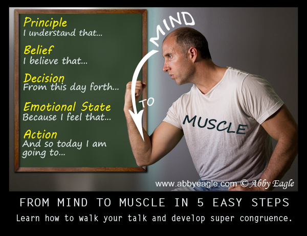 Neuro Semantic Mind to Muscle Pattern