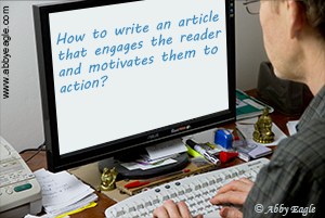 How to write an article for the Internet.