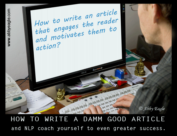 How to write an article using NLP.