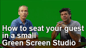 How to seat your client in front of a green screen?