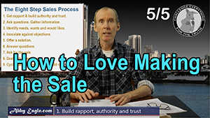 How to love making the sale?