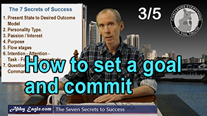 How to set a goal and commit?