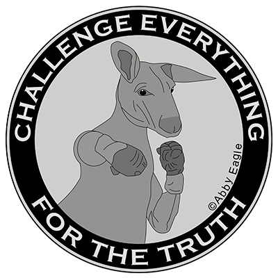 challenge everything for the truth