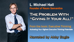 Michael Hall - the problem with giving it 100%