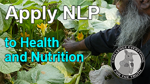 how to apply NLP to improve health and nutrition